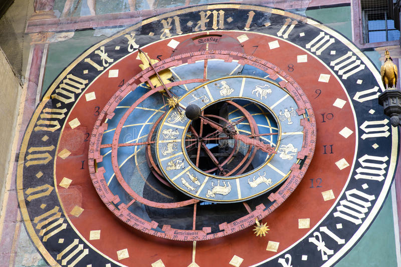 Zytglogge in Bern, landmark medieval clock tower. Switzerland royalty free stock photos