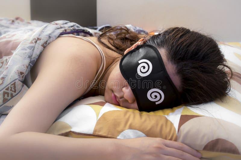 Zzzz 下午打瞌睡是最好! 免版税库存照片