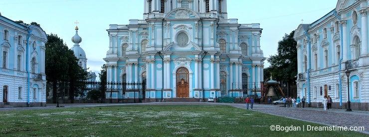 Smolny Convent, Saint Petersburg, Russia