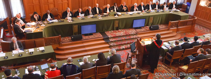 International Court of Justice Court Room