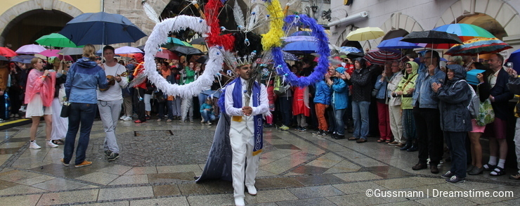 Samba dancers in Coburg