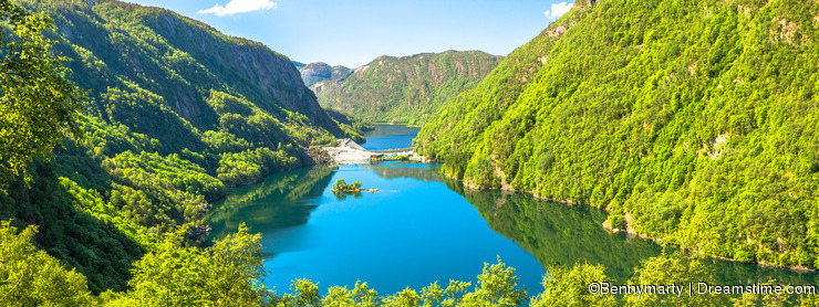 Green Fjords of Norway
