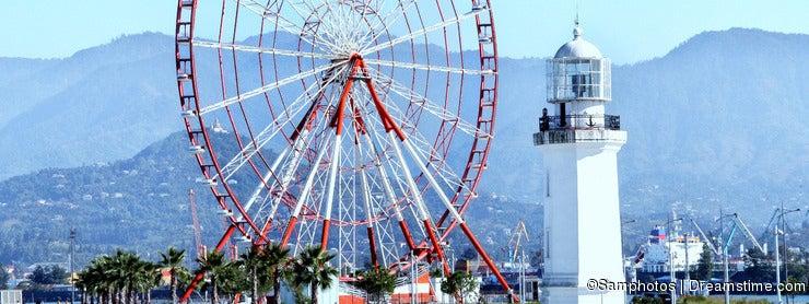 Ferris Wheel & Lighthouse