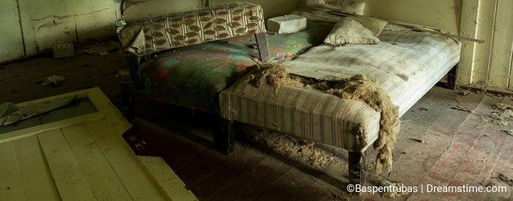 Devastated beds