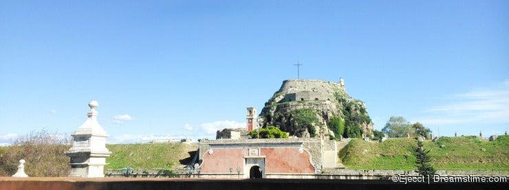 Old fortress Corfu.