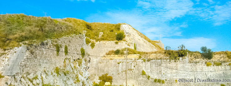 New fortress of Corfu.