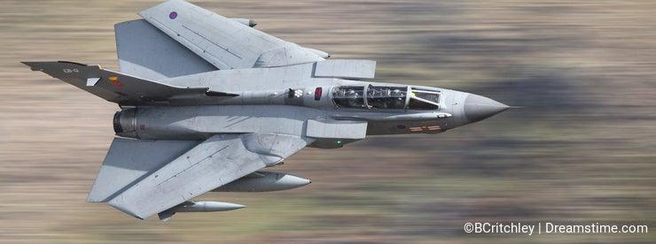 Fighter jet Tornado