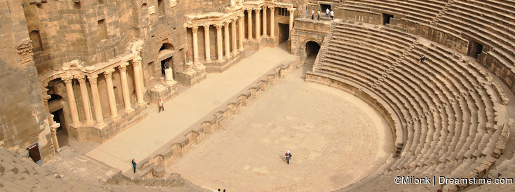 Bosra amphitheater - Syria