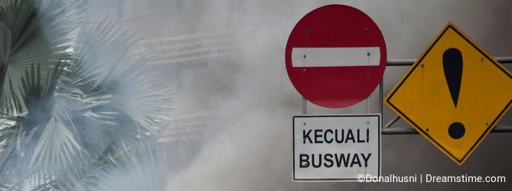 Busway Jakarta Burning