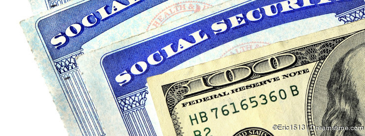 Social Security Cards and Cash Money