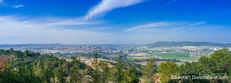 Holy Land Series -Judea mountains panorama