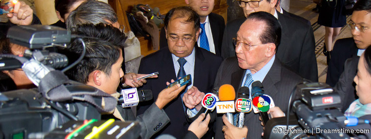 Mr. Hor Namhong, Deputy Prime Minister of the Kingdom of Cambodia