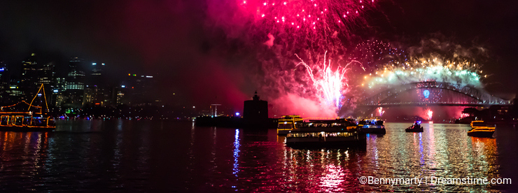 Fireworks Sydney