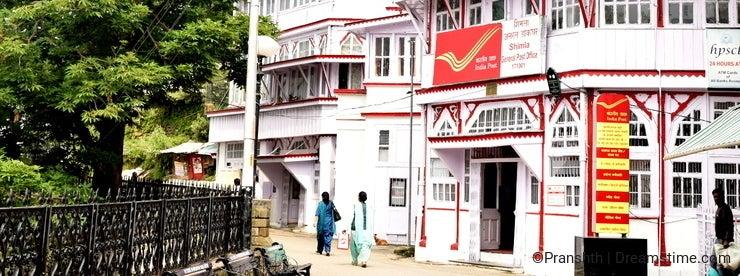 General Post Office Of Shimla , at mall
