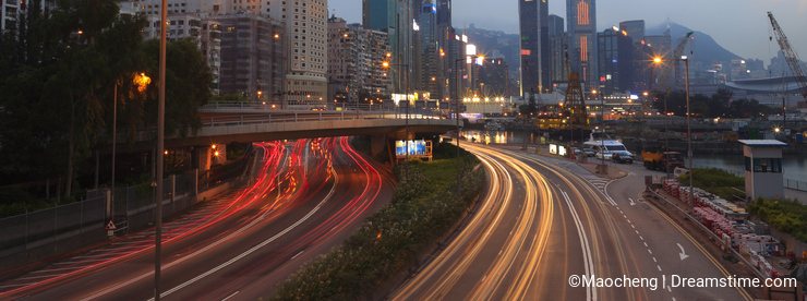 Causeway bay twilight