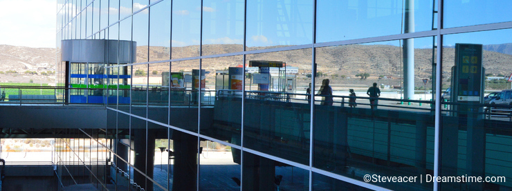 The Terminal at Alicante Airport - Passenger Building