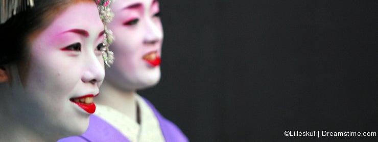 Two Geisha portrait