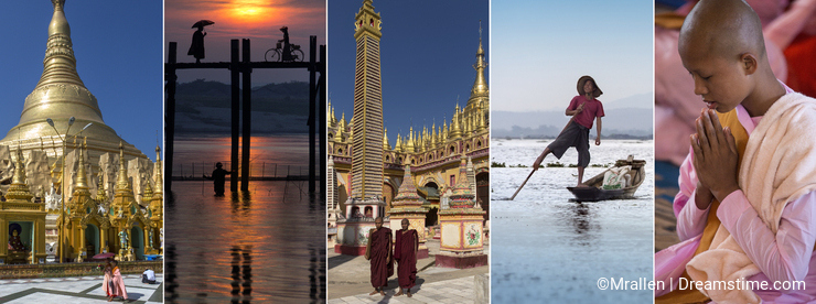 Sights of Myanmar - Burma