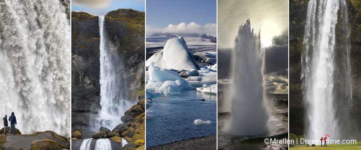 Landmarks of Iceland