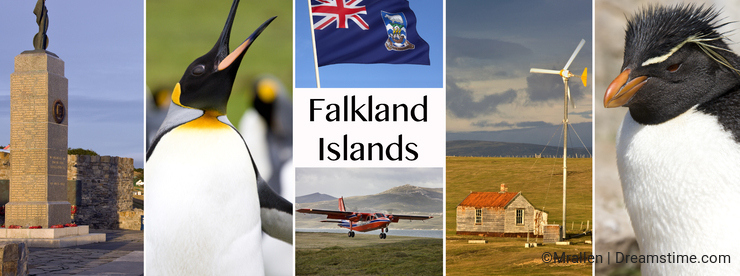 The Falkland Islands - Islas Malvinas