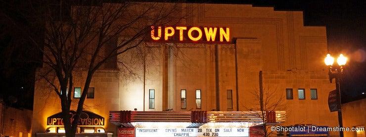 Uptown Movie Theatre in Cleveland Park