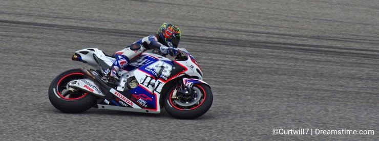 MotoGP Honda rider Karel Abraham Austin Texas 2015
