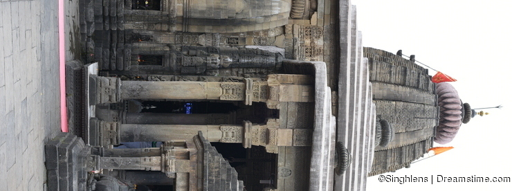 Ancient Shiva temple at Baijnath, Himachal Pradesh, India