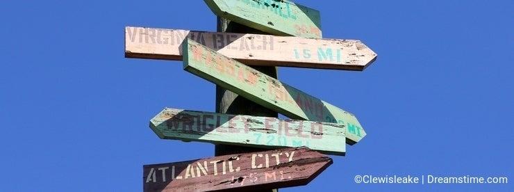 Travel Tourist Destination Sign