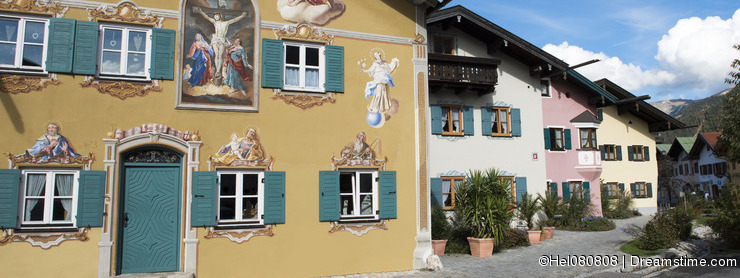 Painted house Bavaria