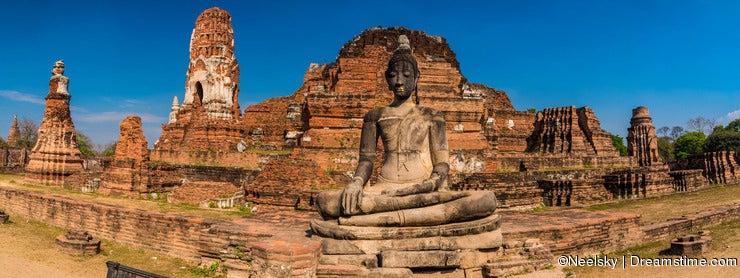 Wat Mahathat panorama