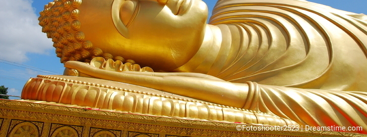 Golden Buddha in Hatyai