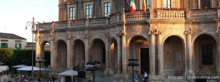 Noto - Palazzo Ducezio