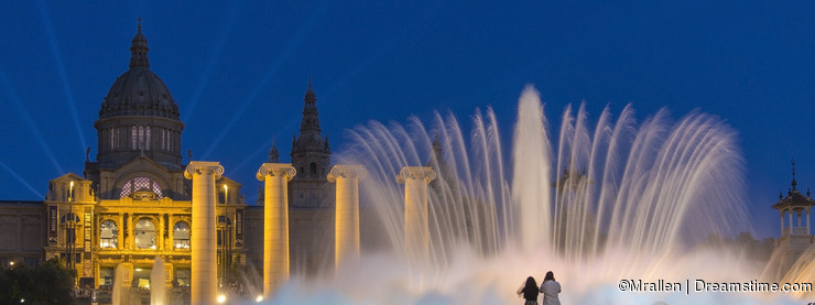 Fountains - Barcelona - Spain