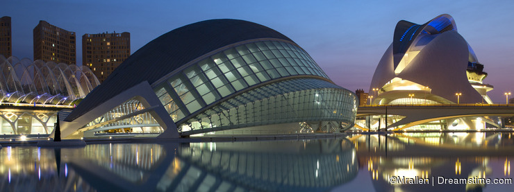 Valencia - City of Arts & Sciences - Spain