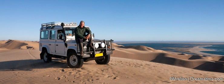 Tourism - Male senior in Namibia