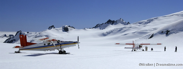 Tourist Flights - Mount Cook - New Zealand