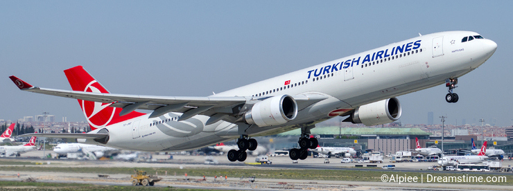 TC-JNS Turkish Airlines, Airbus A330-303 HATTUSAS