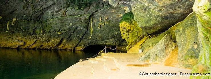 Cave at Phong Nha Ke Bang Region(UNESCO) in Vietnam