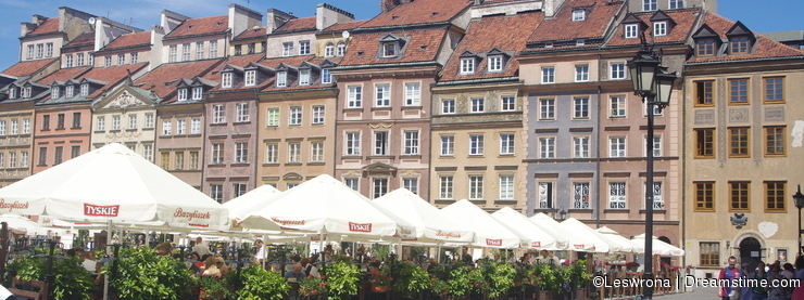 Warsaw's Old Town Market Place