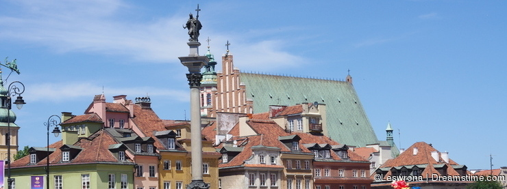 The Warsaw's Old Town Royal Square, Poland