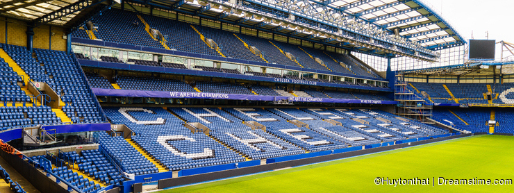Chelsea FC Stamford Bridge Stadium
