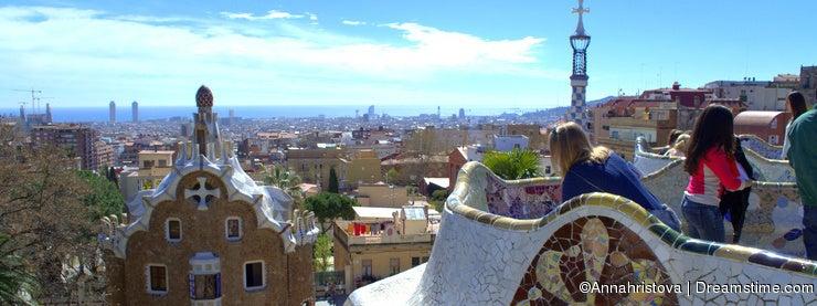 Park Guell,Barcelona