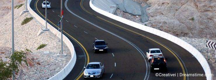 Mountain Road Al Ain