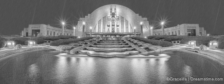 Union Station in Cincinnati, Ohio