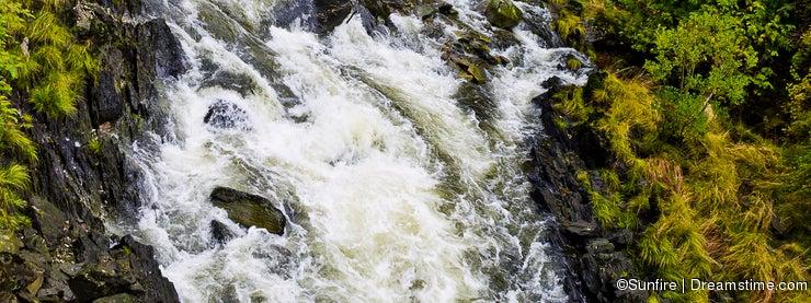 Stream near Creek Street in Ketchikan