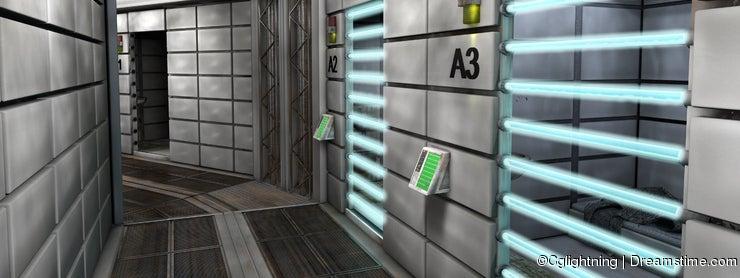 Futuristic jailhouse