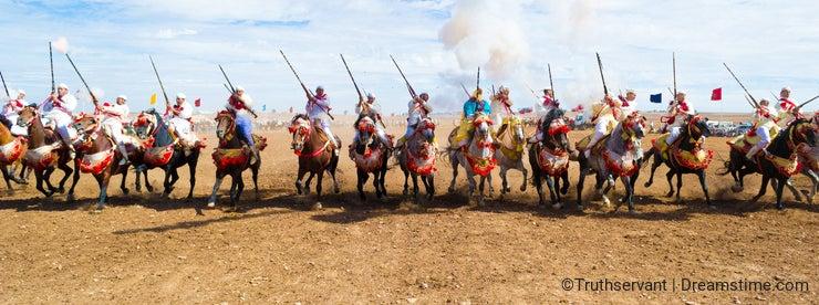 Fantasia in Morocco #2