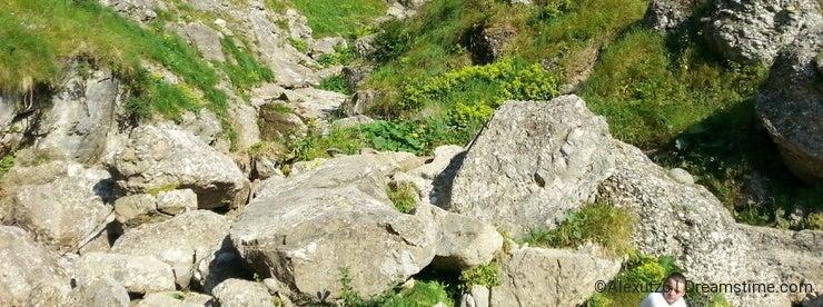 Majestic mountains landscape