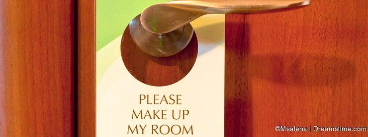 Hotel Door Note