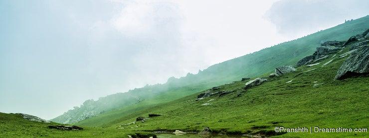 Lake Formation at Hill top